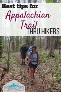 tips for Appalachian Trail thru hikers