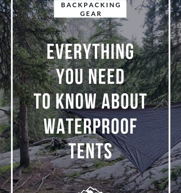 Everything you need to know about waterproof tent materials