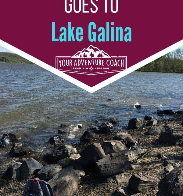 Peter's pack goes to lake galina
