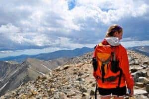 hiking a colorado 14er greys peak