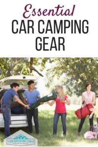 essential car camping gear list