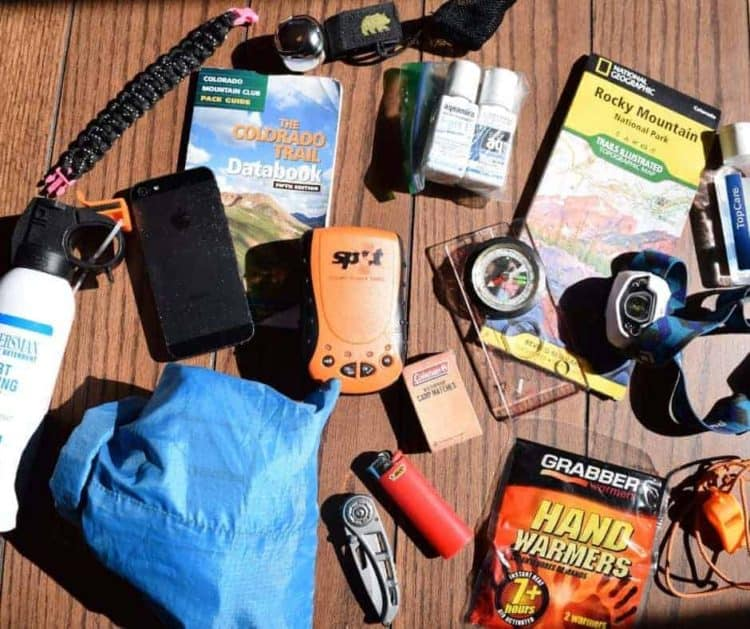 safety gear for hikers