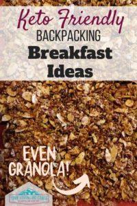 keto backpacking breakfast ideas