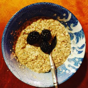 noatmeal keto backpacking breakfast recipe