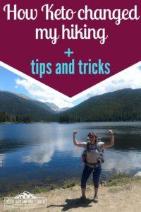 keto hiking tips and tricks