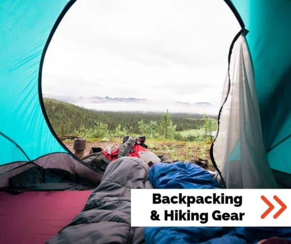 backpacking and hiking gear