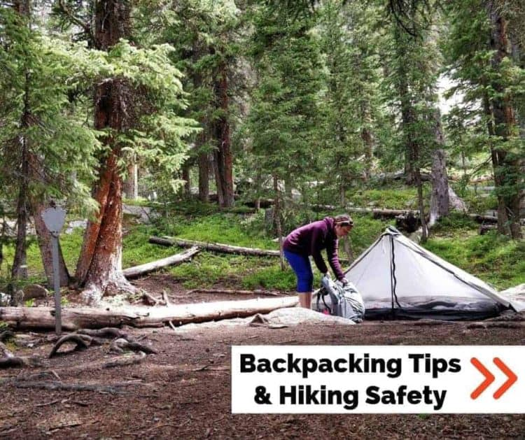 backpacking tips and hiking safety