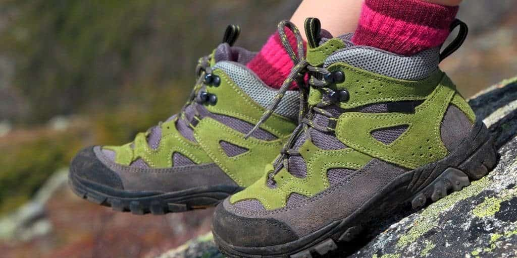 features of hiking boots and shoes