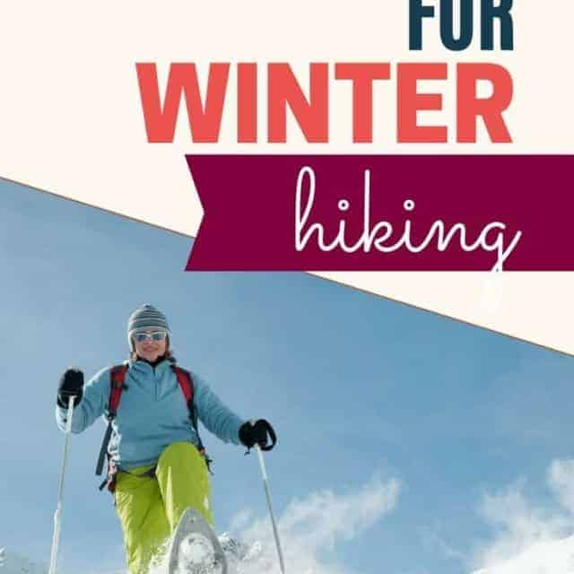 best clothes for winter hiking