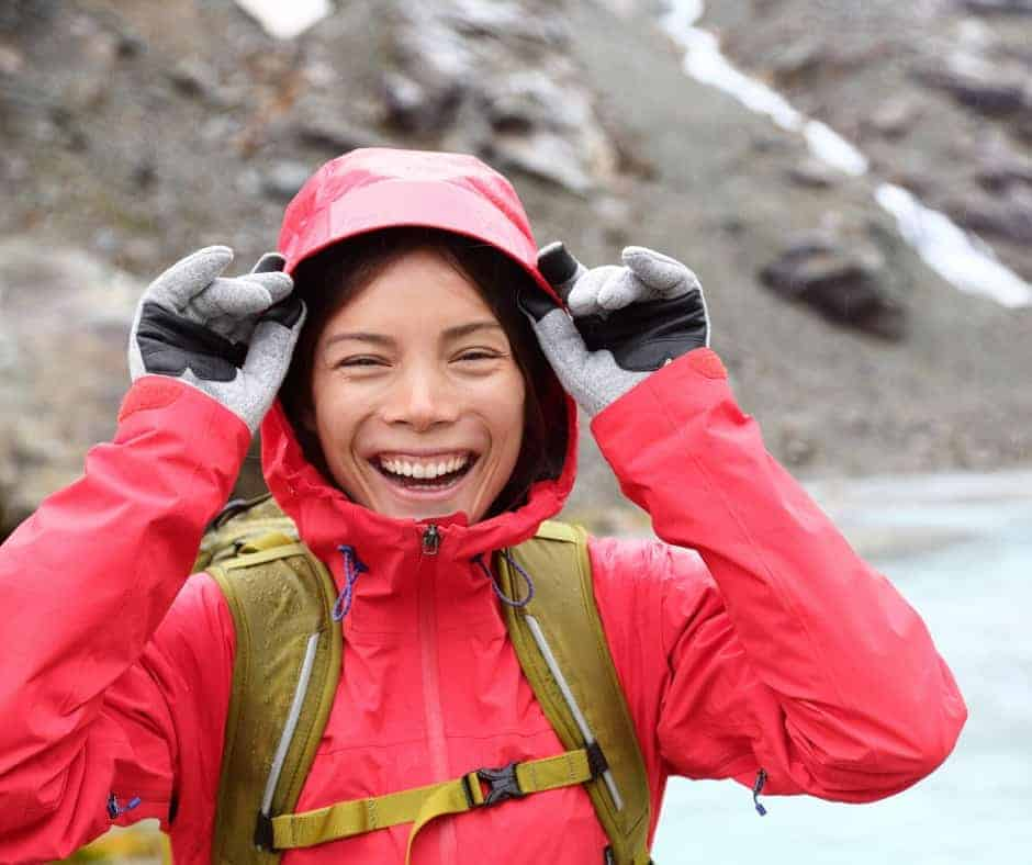 Best layers for hiking and backpacking in the rain