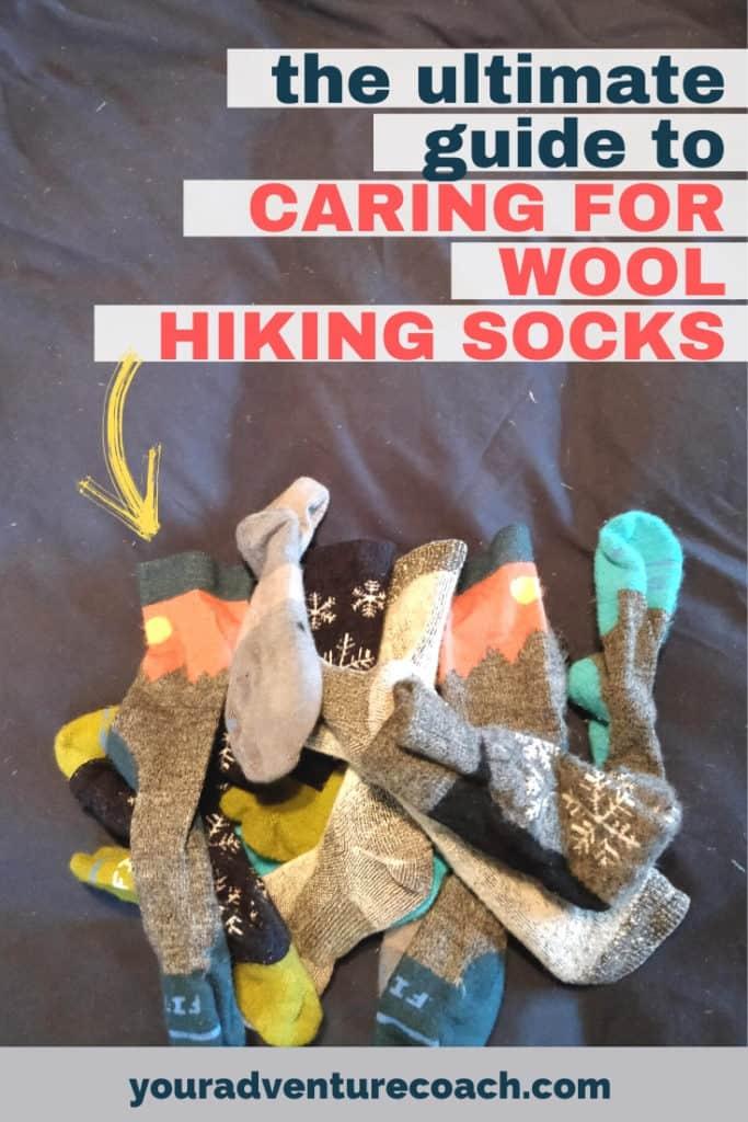 how wash wool socks