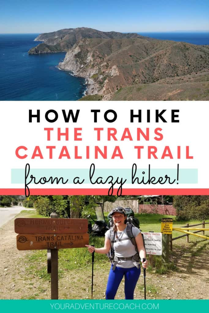 how to hike the trans catalina trail