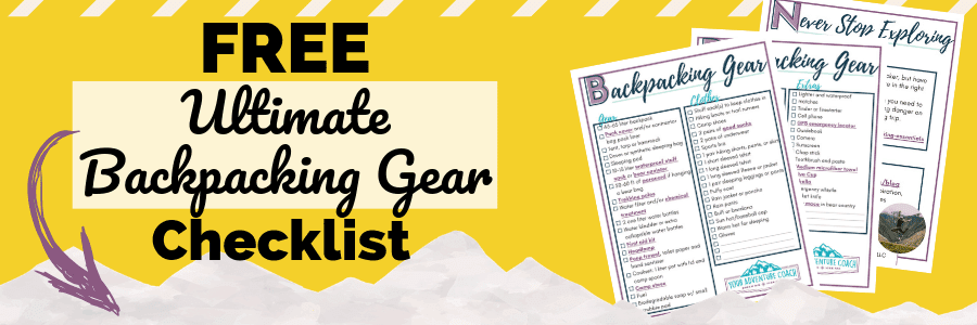 backpacking gear list PDF