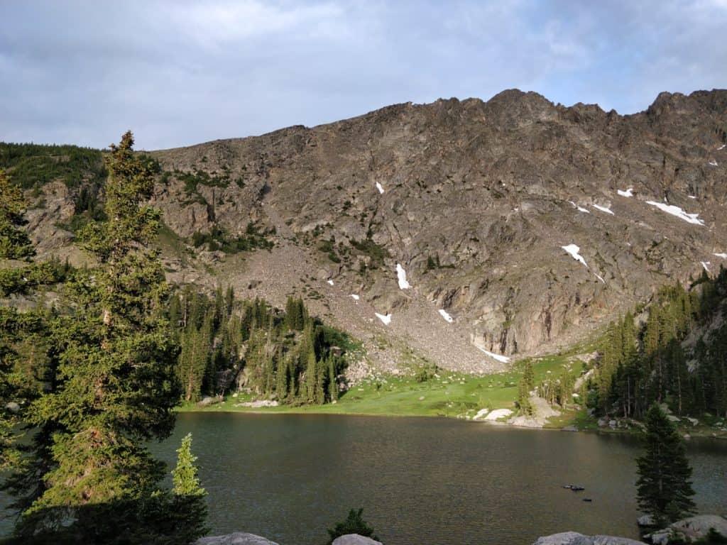 Columbine Lake in Fraser, Colorado