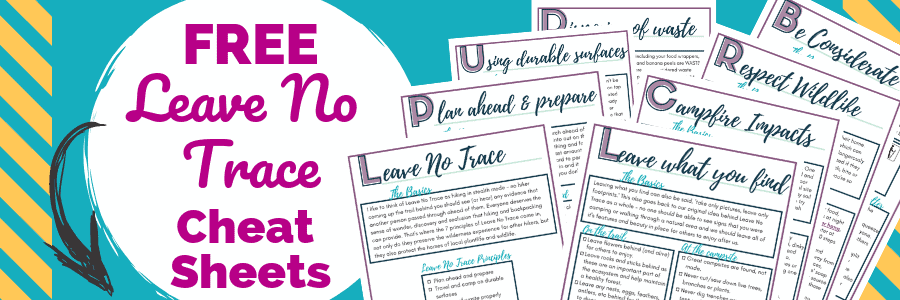 Leave No Trace printable