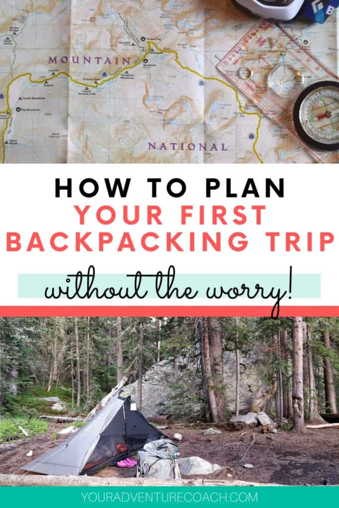 how plan your first backpacking trip for beginners