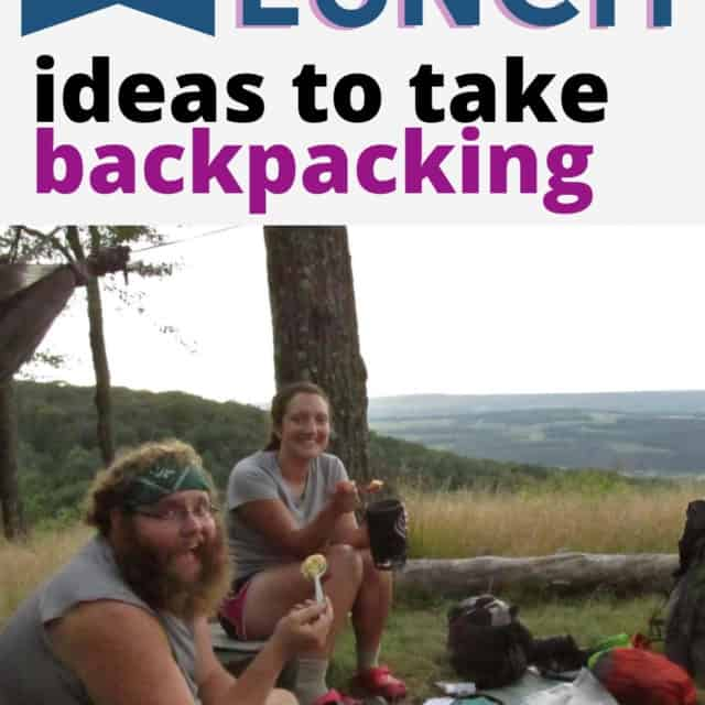awesome lunch ideas for backpacking