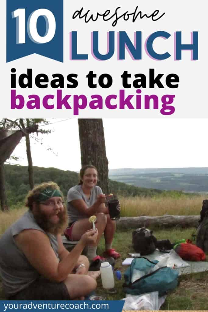 10 awesome lunch ideas for take backpacking