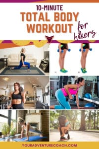 total body workout for hikers