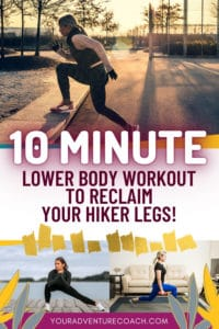lower body workout for hikers