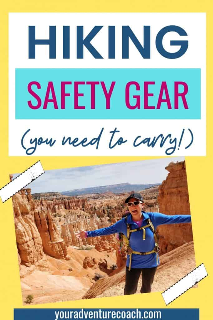 hiking safety gear to always carry