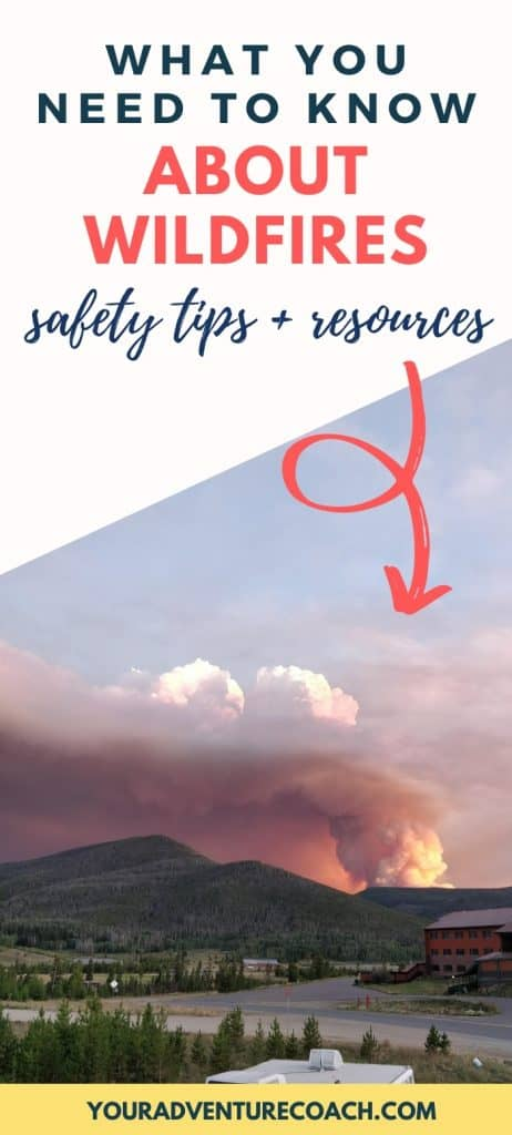 wildfire safety tips and resources for hikers