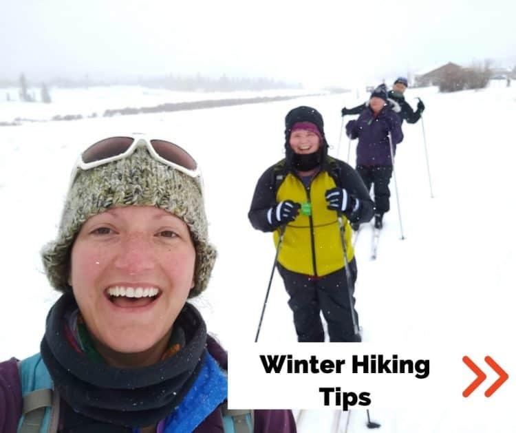 winter hiking tips