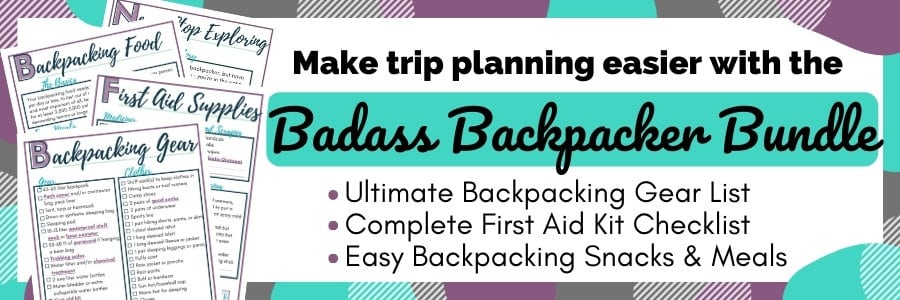 badass backpacker bundle