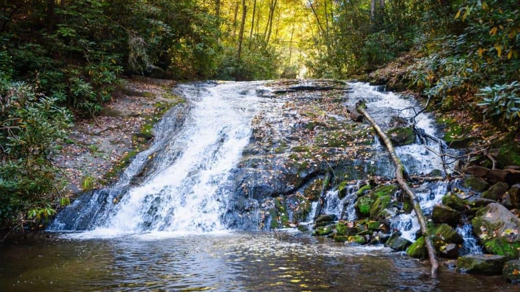 waterfall hikes in the great smoky national park