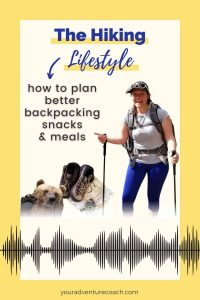 plan and pack better backpacking food and meals